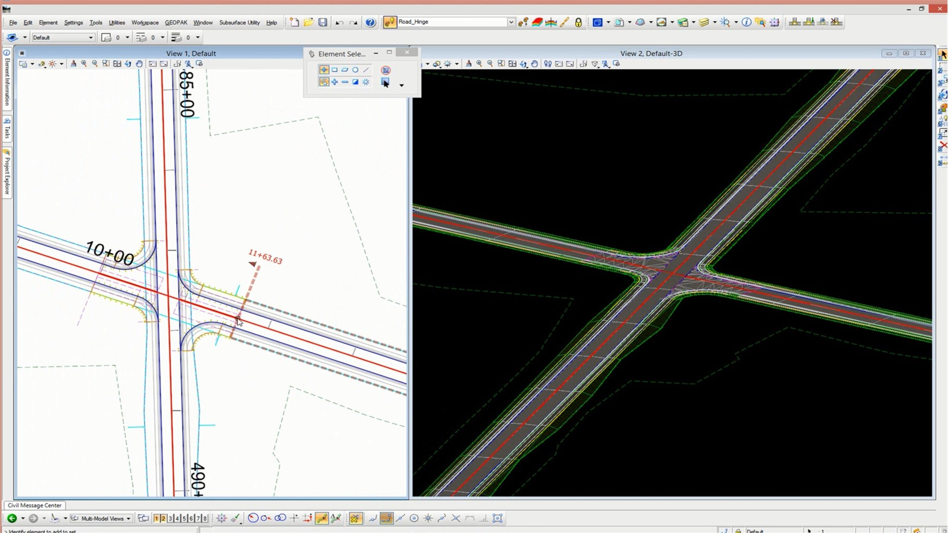 Design and analyze corridors