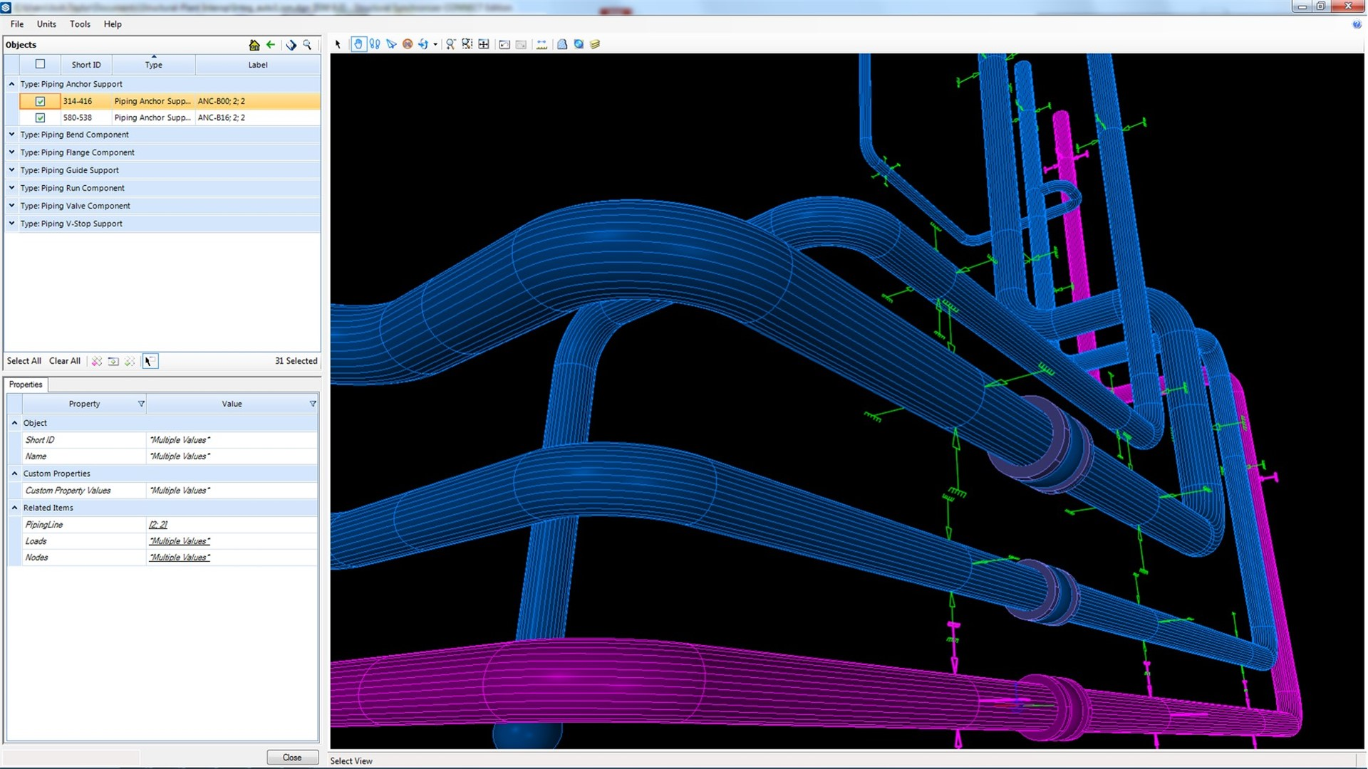 Design and model piping_Structural
