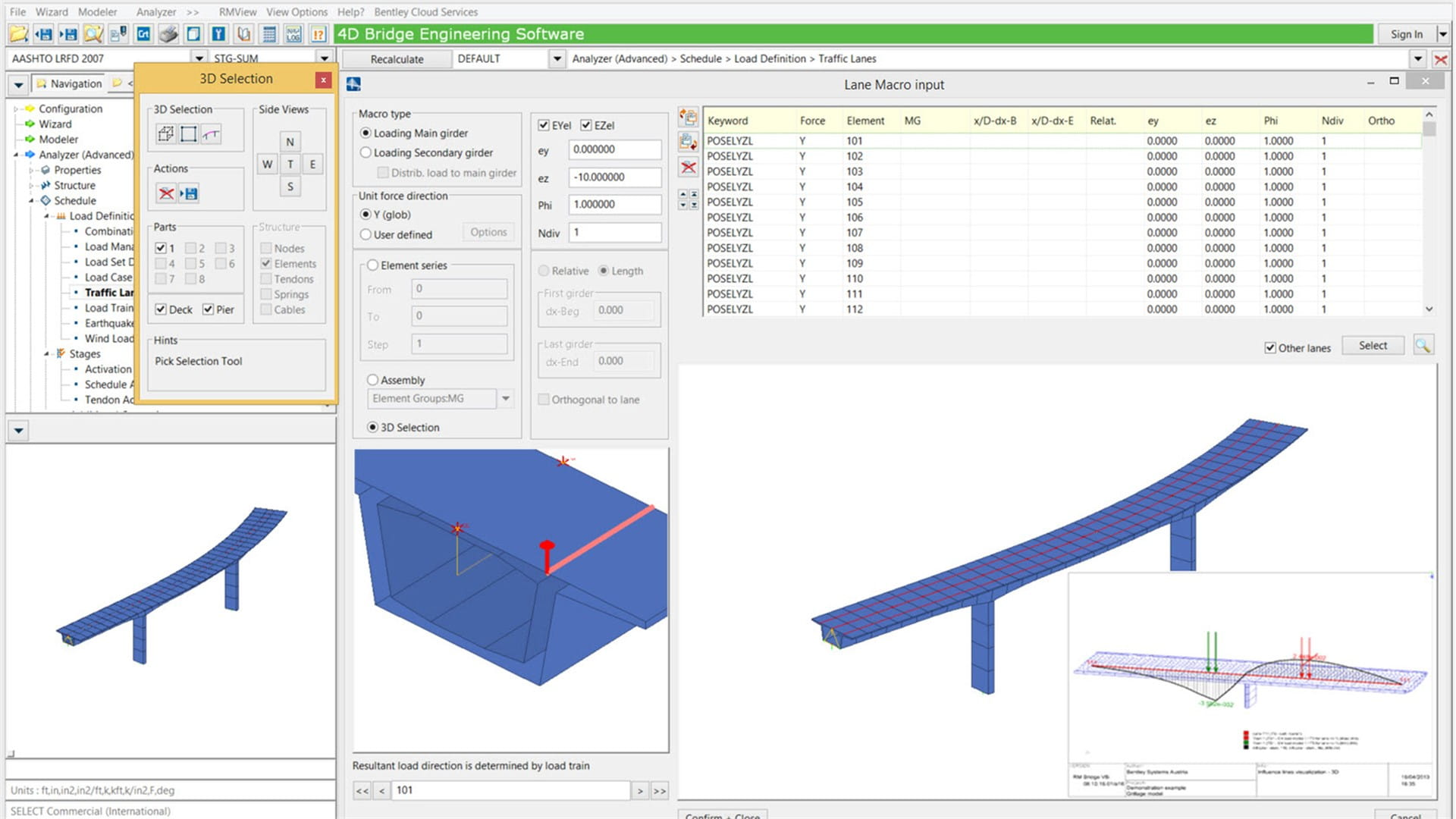 bridge analysis The computer-aided design (cad) files and all associated content posted to this website are created, uploaded, managed and owned by third party users.