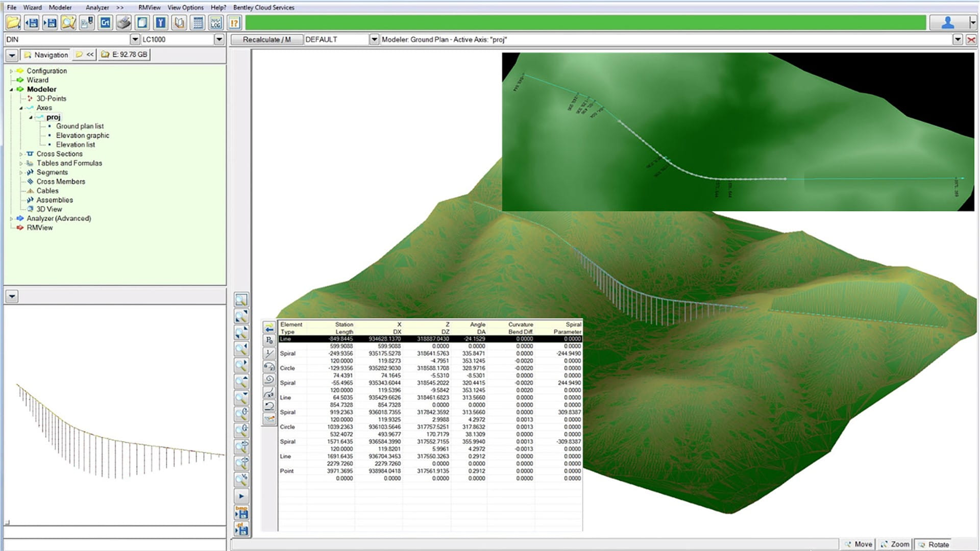 Capture roadway geometry and topography_RM_SPECIFIC