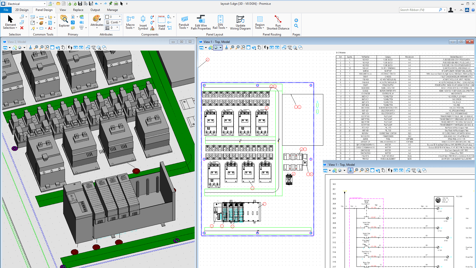 industrial wiring diagram software