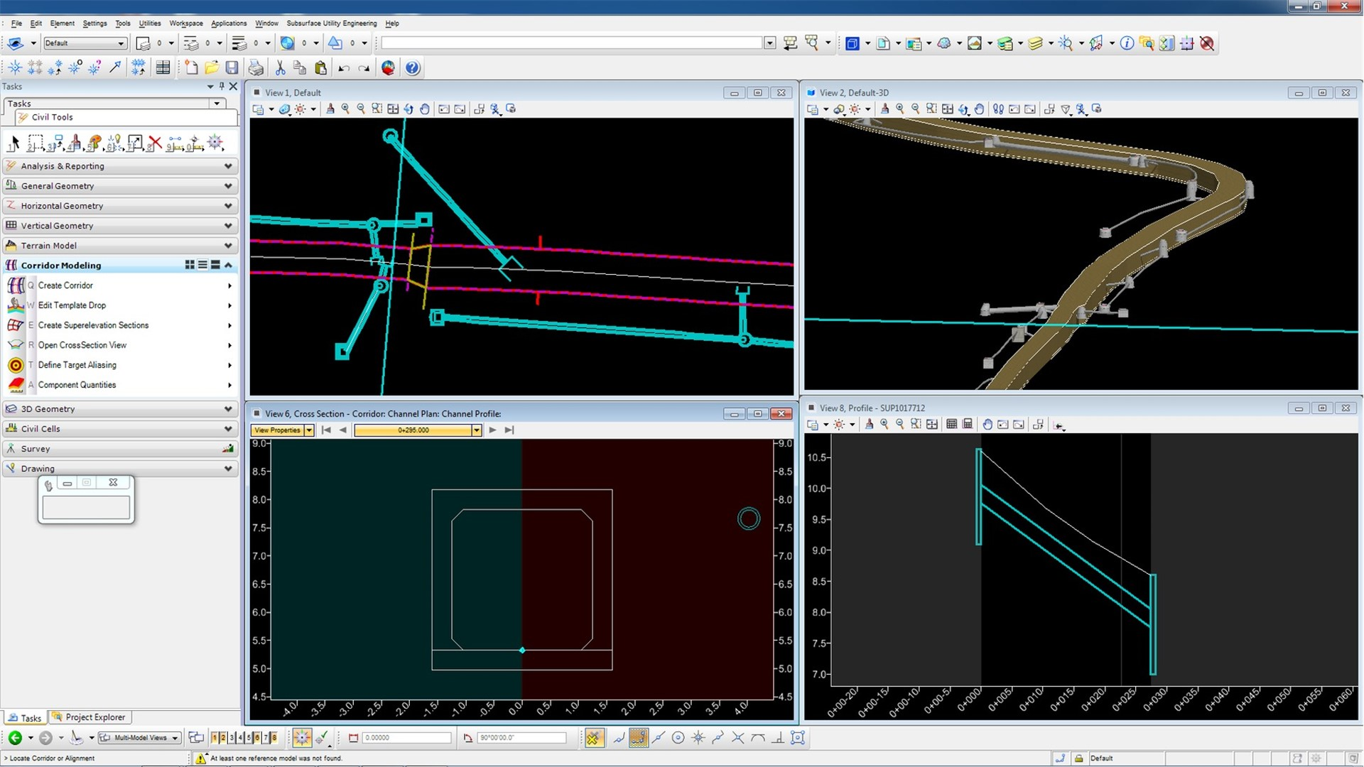 Model analyze and design complete stormwater and sanitary sewer networks v2