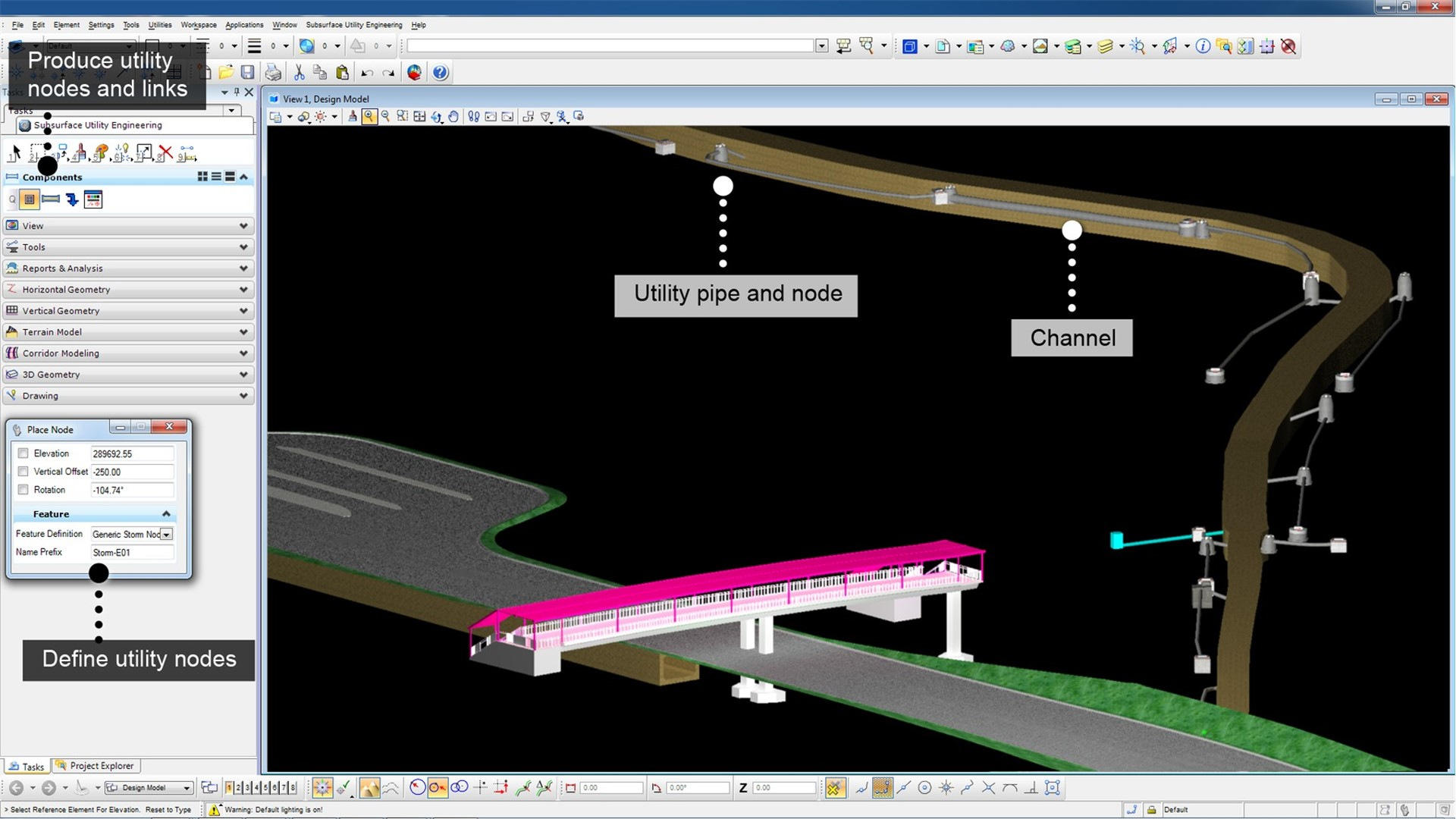 Bentley Subsurface Utility Engineering Software 3d Modeling