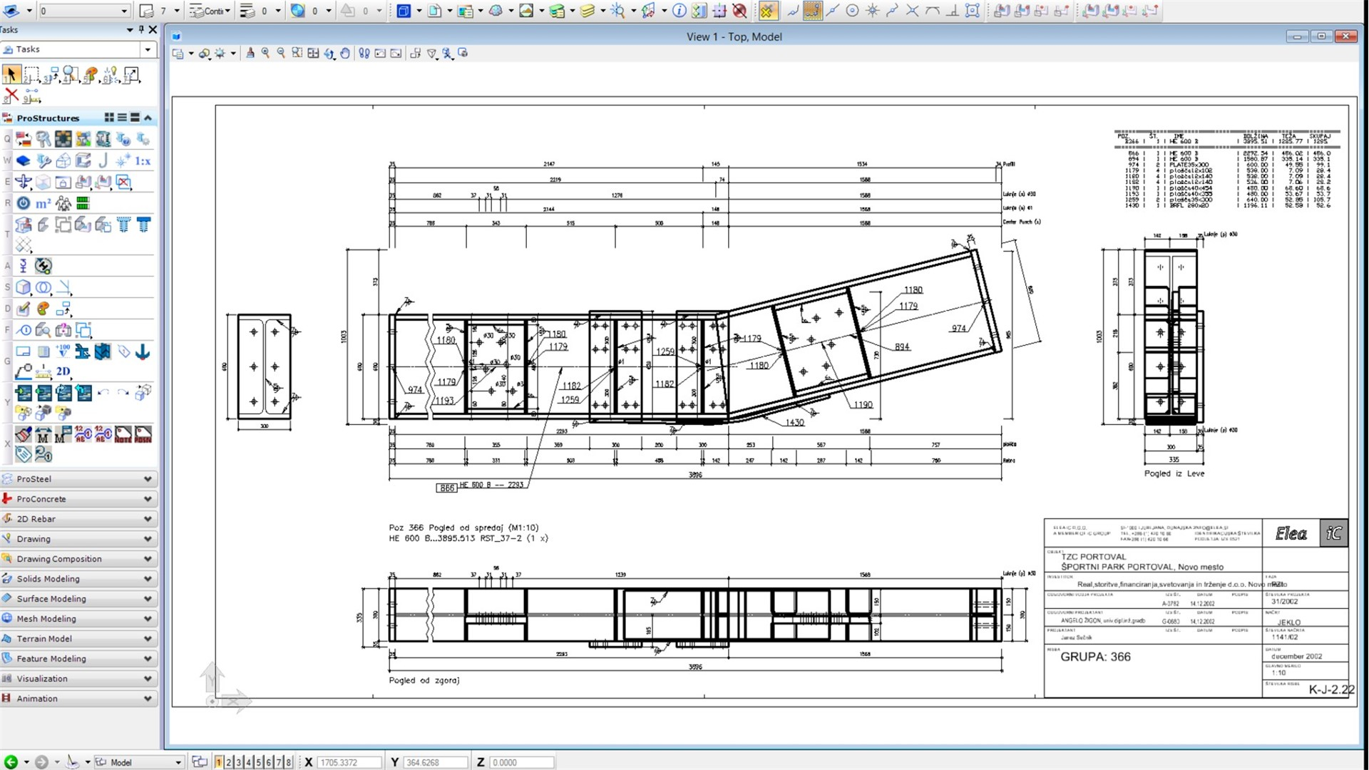 Stahl und betonbauplanung modellierungssoftware for Steel building plans drawings