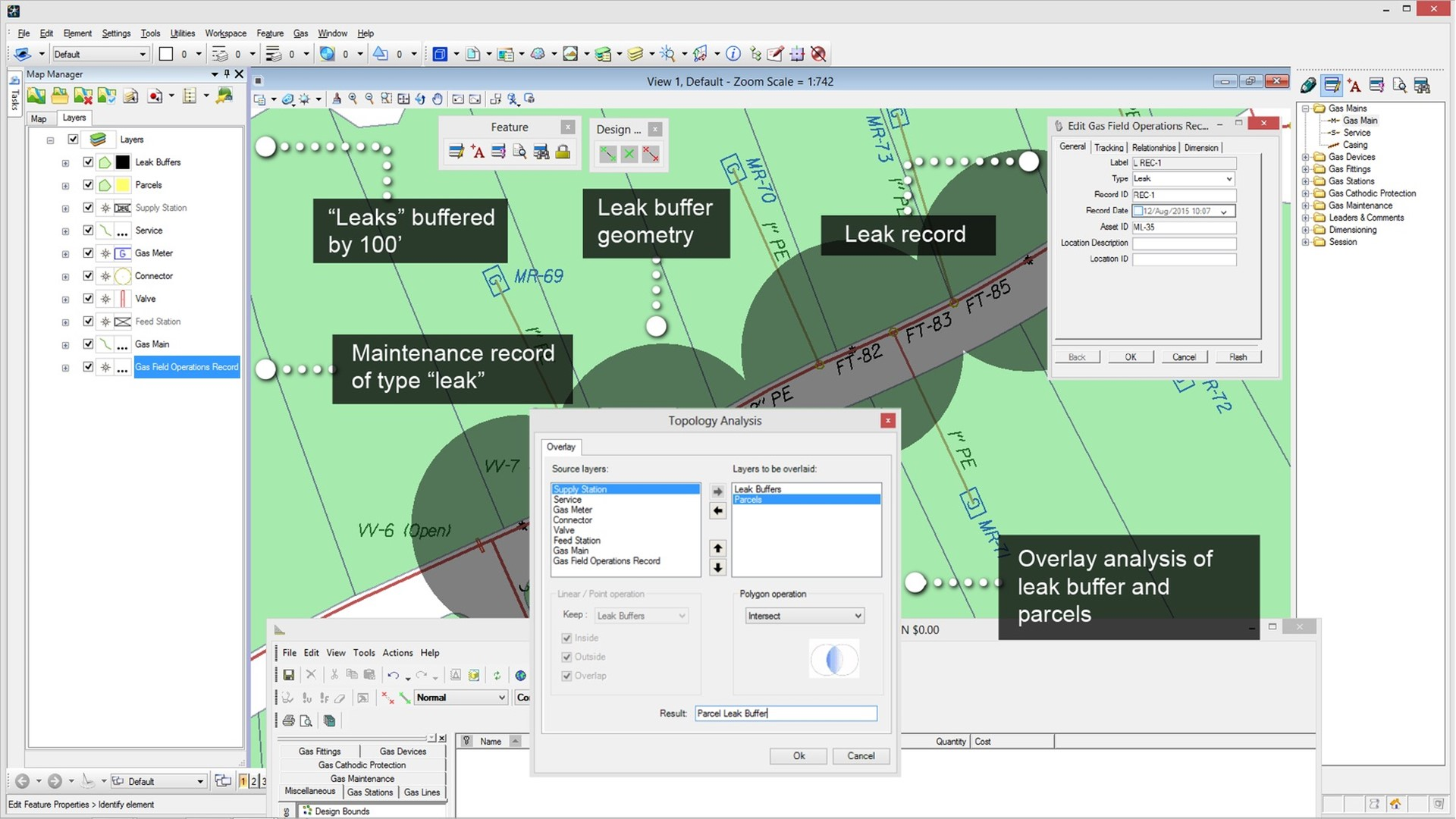 Utility Network Design And Gis Software Bentley