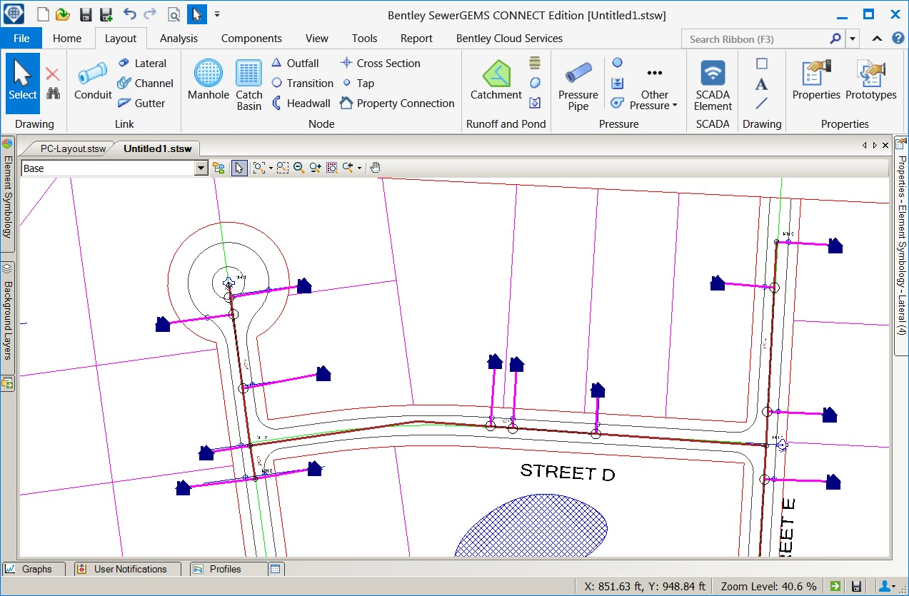 SewerGEMS and SewerCAD Advances Simulation and Reporting for Sewer ...
